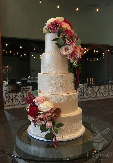 Viaggio Wedding Cake