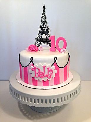 Modesto girls birthday cake