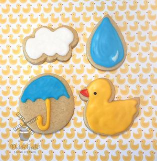 sprinkles baby shower cookies