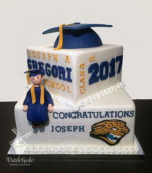 Gregori High School Modesto Graduation Cake