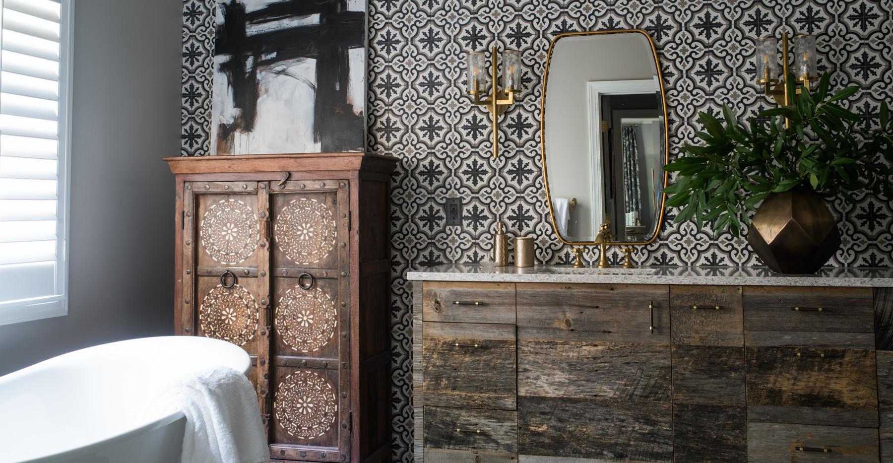 Sandy Springs home - bathroom