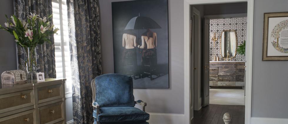 Sandy Springs home - master bedroom