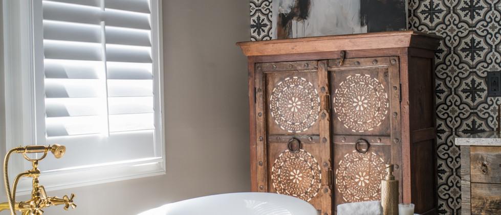 Sandy Springs home - master bath