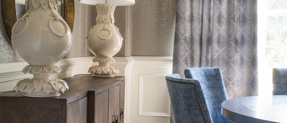 Sandy Springs home - dining room