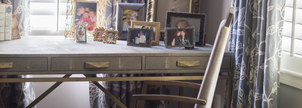 Sandy Springs home - master bedroom desk