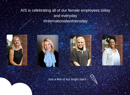Happy International Women's Day to our AIS women and our clients!