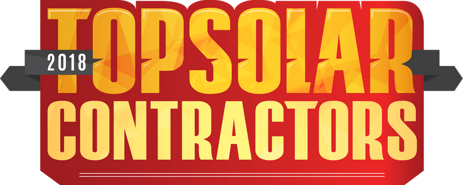 TWO IN A ROW! -- Top Solar Contractor