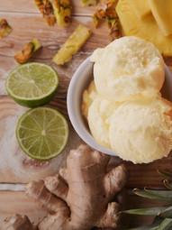 Ananas, Zenzero & Lime
