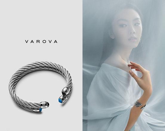 varova paris gewelry silver asian model passion blue intimacy smm sharecampaign