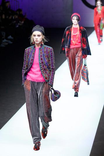 Giorgio Armani fashion show Milan Fashion Week february 2018 001
