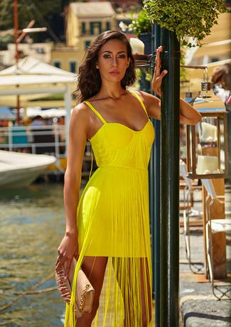larasbrand_2bandagem_bandage_yellow_dres