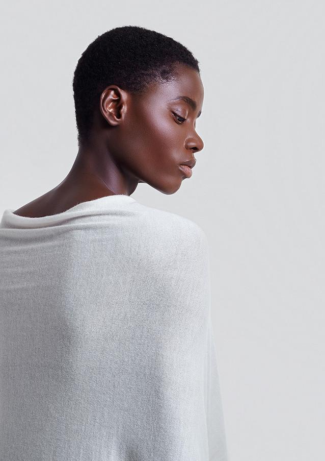 cariaggi filato cardato white passion african model studio milan photo by sharecampaign