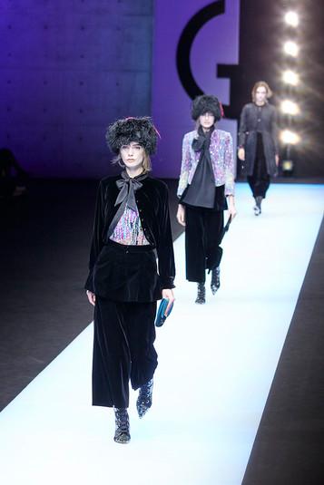 Giorgio Armani fashion show Milan Fashion Week february 2018 002