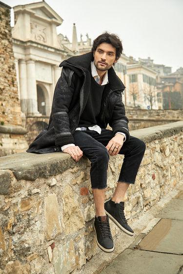 ferricelli shoes grey bergamo italy walking fog social media sharecampaign