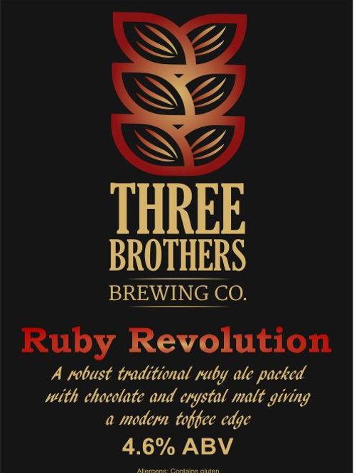 Three Brothers - Ruby Revolution