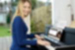 Modern Music Klavierspielen per Videokonferenz