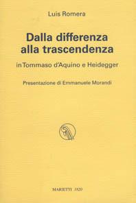 Dalla differenza alla trascendenza in Tommaso d'Aquino e Heidegger