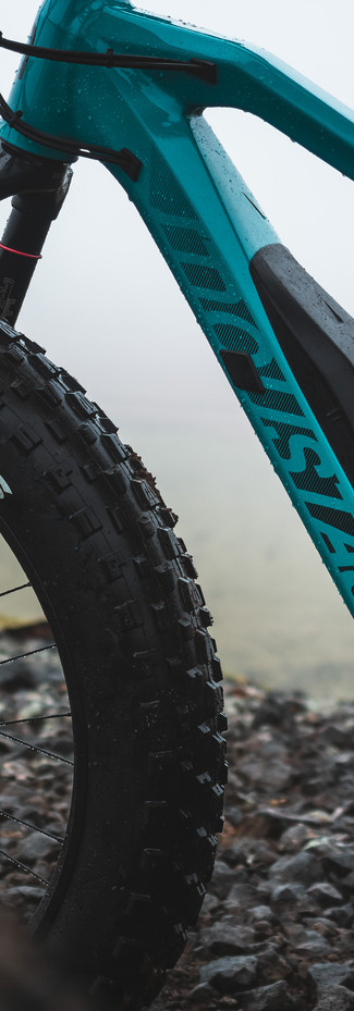 Front= Maxxis Minion FBF 26x4.80, Tubeless compatible Rear= Maxxis Minion FBR 26x4.80, Tubeless compatible
