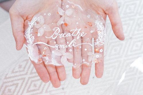 入門西洋書法X手工花片工作坊 Dip Pen Calligraphy x  Handmade Floral Coaster