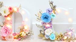 Flower Letter Light