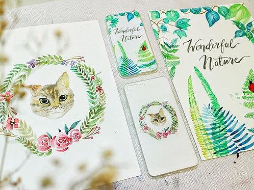 Watercolor Phone Case Design Workshop