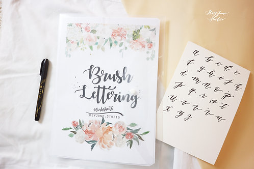 Brushlettering x acrylic board (Click to join)