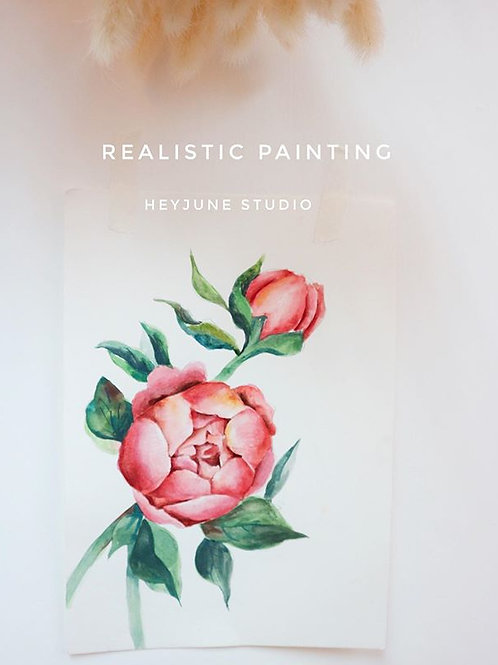 Realistic Floral Regular Course