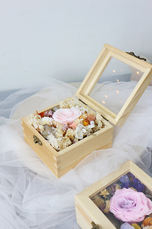 Preserved flower Box (V)