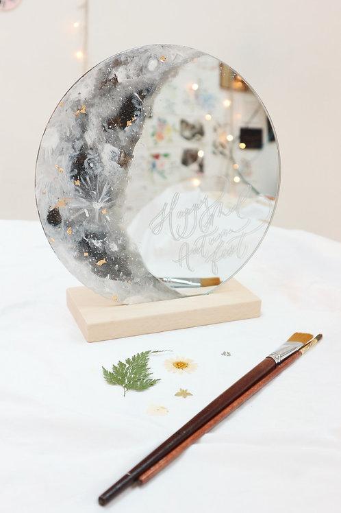 金箔月亮鏡油畫工作坊LUNA Mirror Painting Workshop