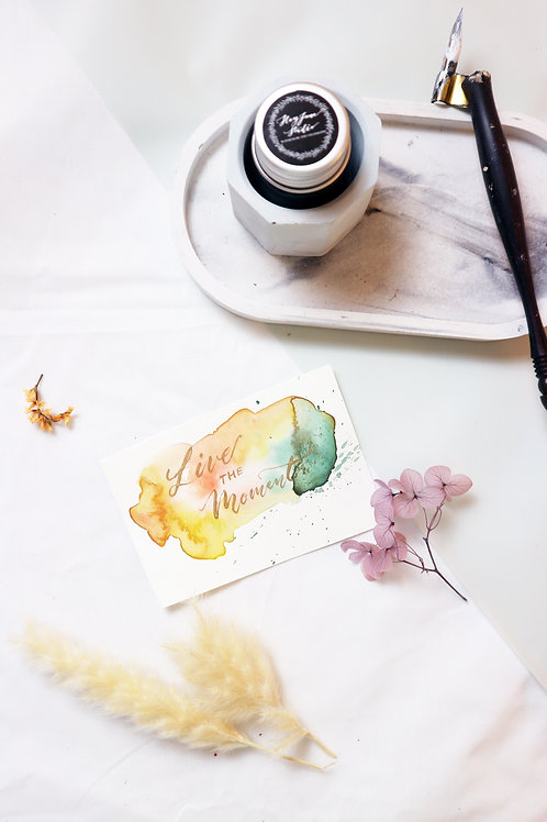 Watercolor Place Cards/ Cards