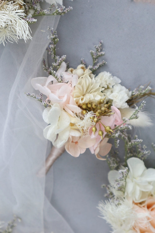 Wedding- Buttonhole (w/o Rose)