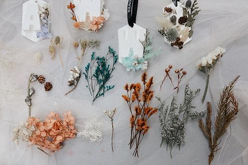 DIY package- dried flowers x preserved flowers (20g)