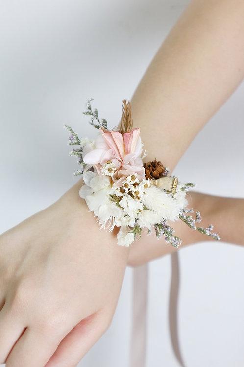 Wedding- Wrist corsage (w/o rose)