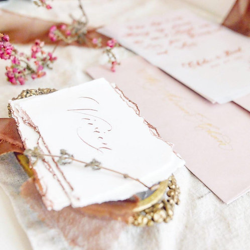 Vintage style Placecards