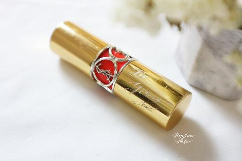 Engraving on Lipstick