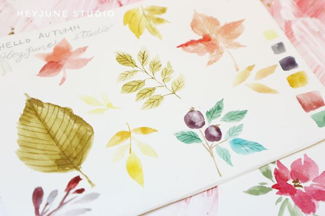 Different ways to paint autumn vibes flo