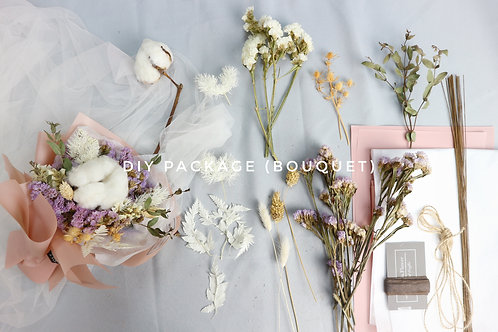 DIY package- bouquet