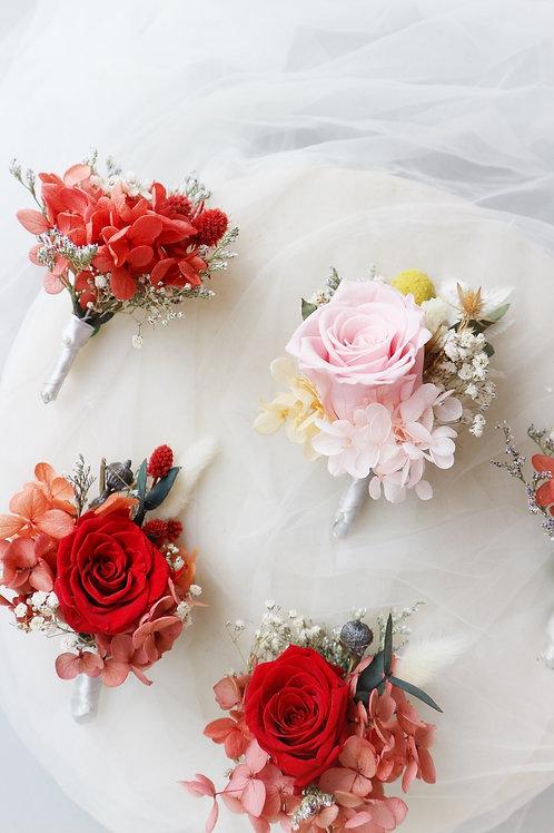 Wedding- Buttonhole (w Rose)