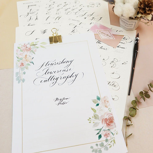 Regular Calligraphy Course (4 lessons included)