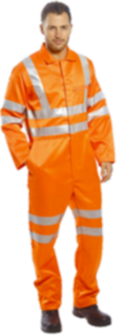 safety worker jumpsuit