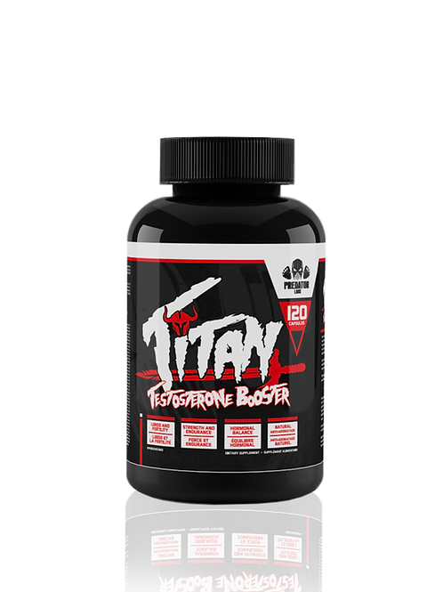 TITAN - TESTOSTERONE BOOSTER