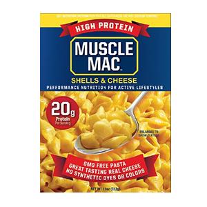 MUSCLE MAC - SHELLS & CHEESE