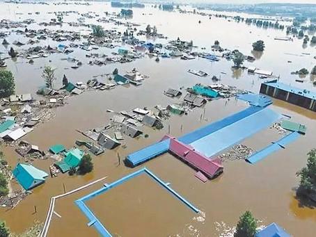 Граждане, пострадавшие от наводнения, освобождены от уплаты имущественных налогов