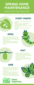 spring home maintenance guide, dfw home inspector