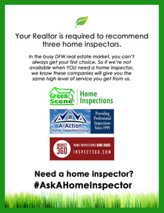 dallas home inspector, fort worth home inspector