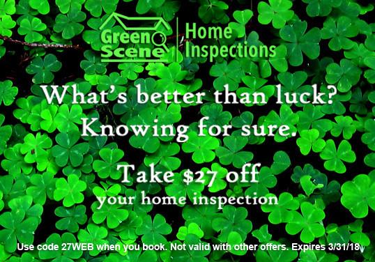 home inspection discount, st patricks day dallas, dallas home inspector