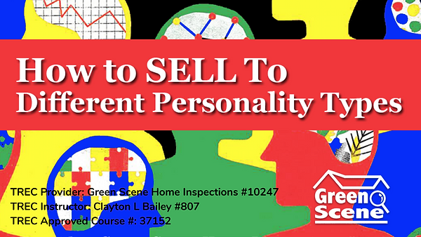 Selling to Different Personality Types (