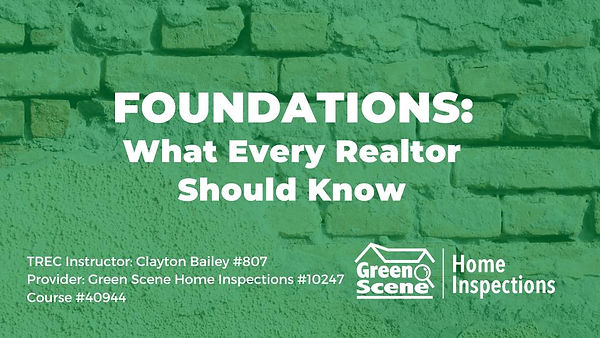Foundations_ What Every Realtor Should K