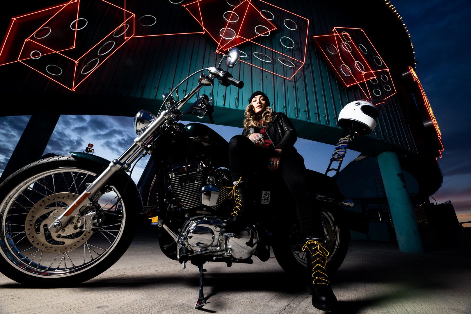 Las Vegas Harley Davidson Shoot