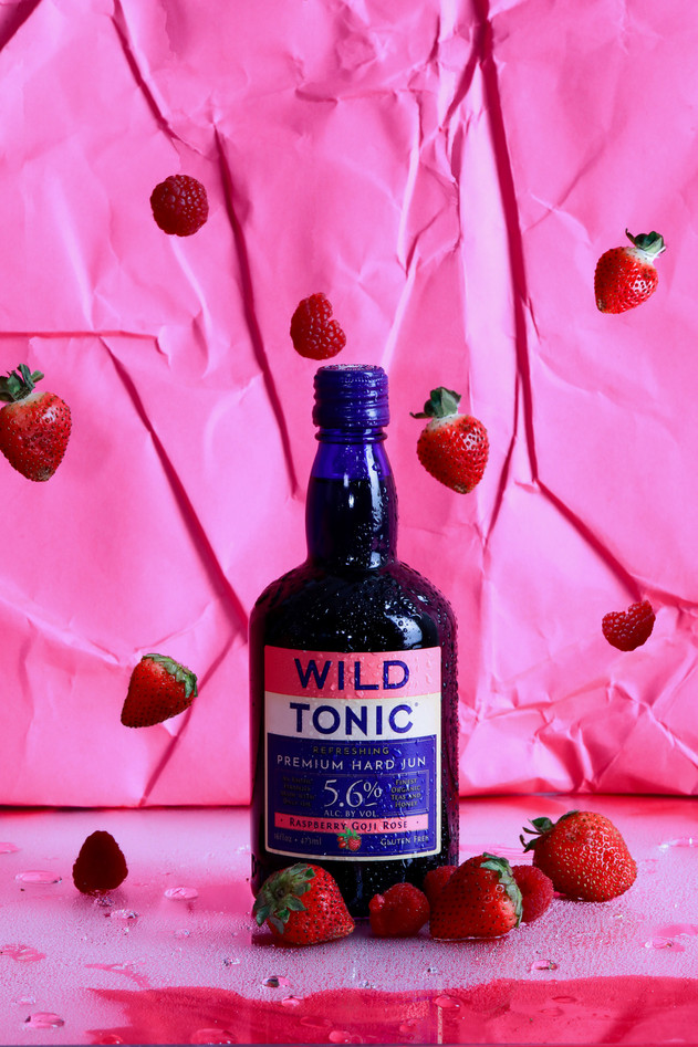wild tonic jun kombucha alcoholic